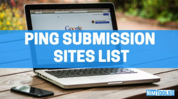 Ping Submission Sites