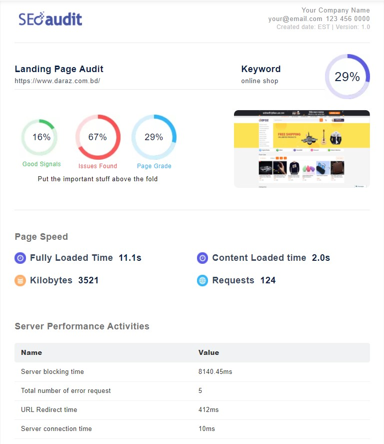 White Label SEO Audit Tool for SEO Professional 3